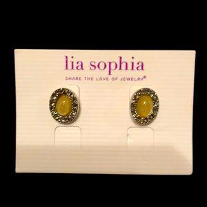 Lia Sophia earrings new with tags